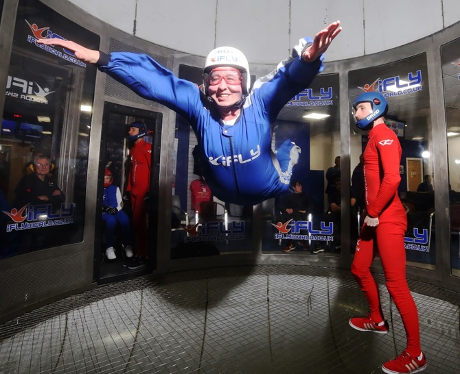 iFly excursion