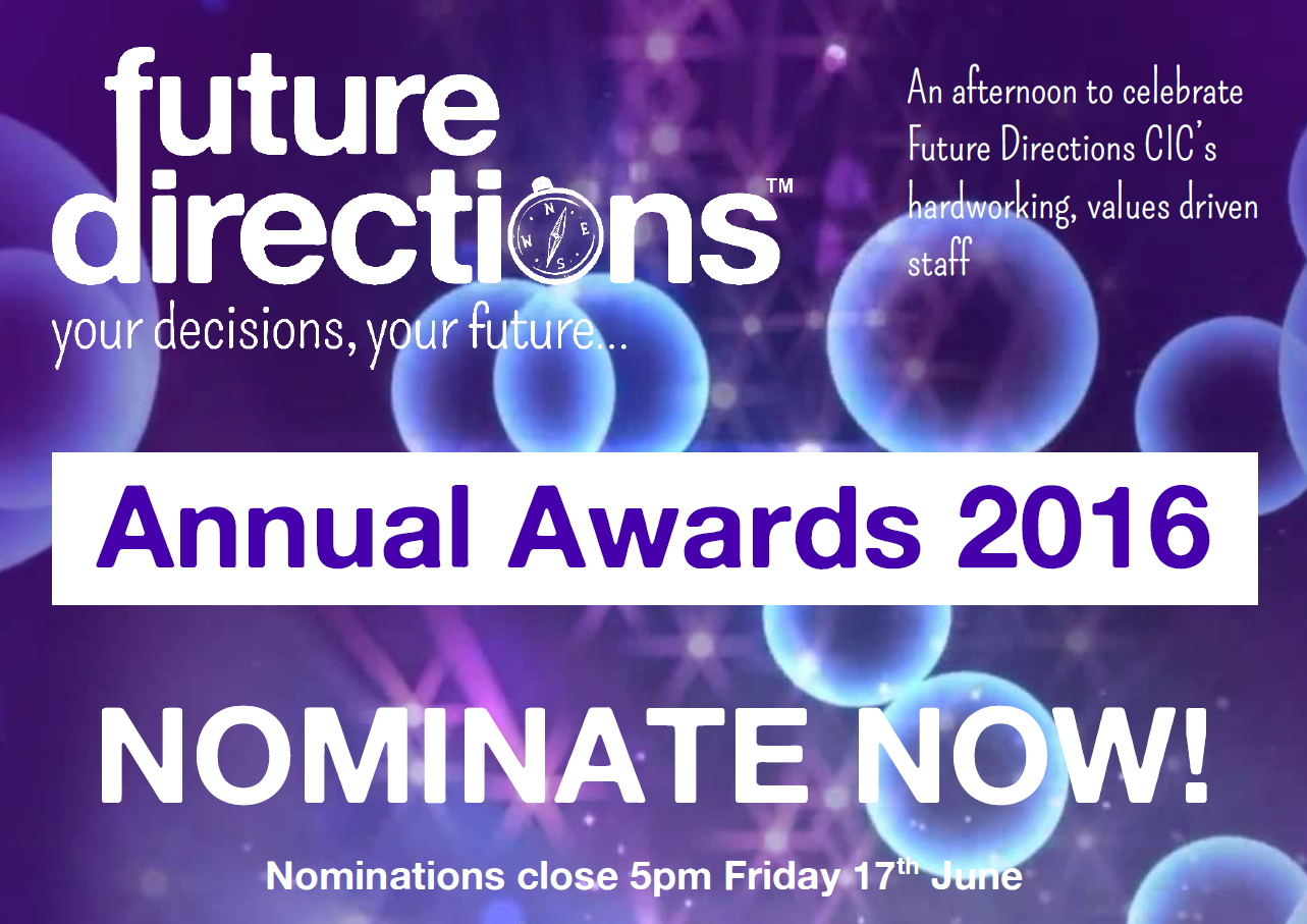 Introducing the Future Directions Annual Awards!